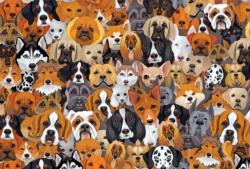 Dogs and More Dogs Dogs Jigsaw Puzzle