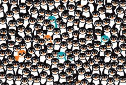 Cra-Z Penguins Birds Impossible Puzzle