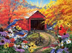 Bluebird Bridge Bridges Jigsaw Puzzle