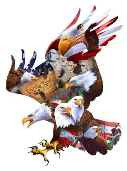 Great American Eagles United States Jigsaw Puzzle
