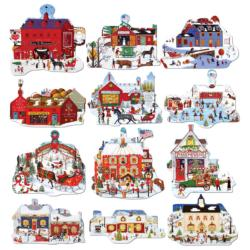Merry Christmas Town Christmas Multi-Pack