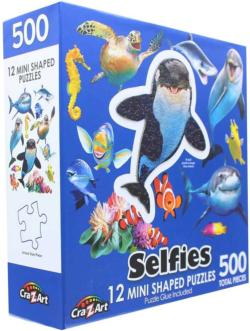 Ocean Selfies (Mini) Turtles Miniature Puzzle