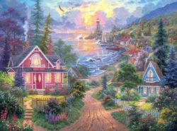 Coastal Living Sunrise / Sunset Jigsaw Puzzle