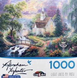 Light Unto My Path Churches Jigsaw Puzzle