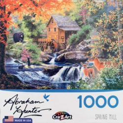 Spring Mill Lakes / Rivers / Streams Jigsaw Puzzle