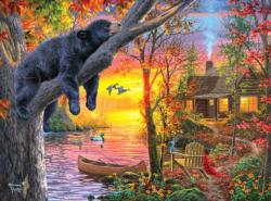 Sleepy Sunrise / Sunset Jigsaw Puzzle