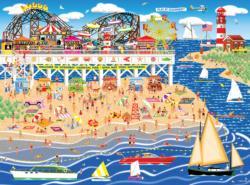 Oceanbay Carnival Pier Carnival Jigsaw Puzzle