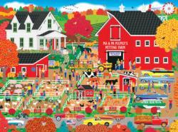 Home Country - Plumly's Petting Farm Farm Animals Jigsaw Puzzle