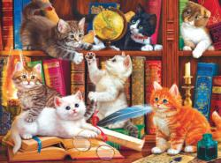 Library Mischief - Scratch and Dent Library / Museum Jigsaw Puzzle