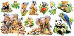 Jungle Selfies Jungle Animals Jigsaw Puzzle