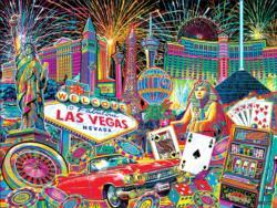 I Heart Las Vegas Las Vegas Jigsaw Puzzle