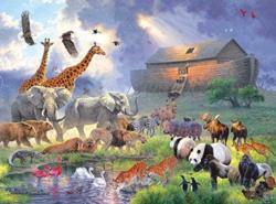 Noahs Ark Boats Jigsaw Puzzle