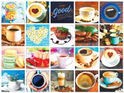 Love Coffee Collage Jigsaw Puzzle