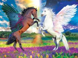 Sun & Moon Horses Jigsaw Puzzle