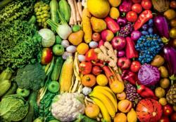 Rainbow Superfoods Food and Drink Jigsaw Puzzle