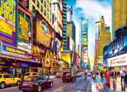 Times Square & 7th Avenue, NYC New York Jigsaw Puzzle