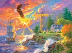 Guided Way Home Lighthouses Jigsaw Puzzle
