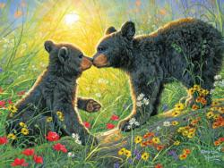 Love Is In The Air Bears Jigsaw Puzzle