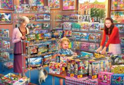 Rosen's Puzzle Store Shopping Jigsaw Puzzle