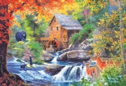 Spring Mill Cottage / Cabin Jigsaw Puzzle