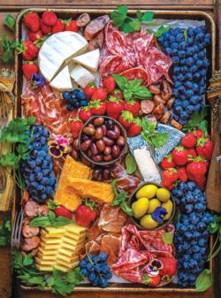 Cheese & Charcuterie Food and Drink Jigsaw Puzzle
