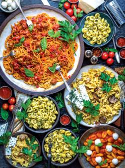 Pasta Goodness Food and Drink Jigsaw Puzzle