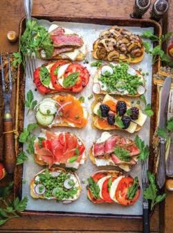 Toast Love Food and Drink Jigsaw Puzzle