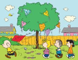 Peanuts Kite Tree Cartoon Children's Puzzles