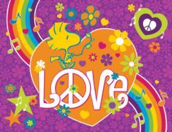 Peanuts Woodstock Love Cartoon Children's Puzzles