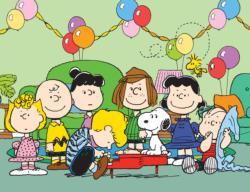 Peanuts Birthday Cartoon Children's Puzzles