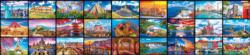 Kodak World's Largest Puzzle – 27 Wonders of the World Photography High Difficulty Puzzle