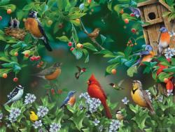 Bird Festival Birds Large Piece