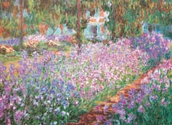 Monet's Garden - Scratch and Dent Impressionism Jigsaw Puzzle