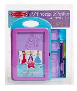 Princess Design Activity Kit Arts and Crafts