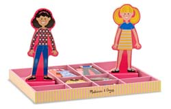 Abby & Emma Magnetic Dress-Up People Toy