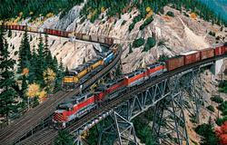 Keddie Wye Meet Trains Jigsaw Puzzle
