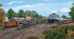 Palmer Crossroads Trains Jigsaw Puzzle