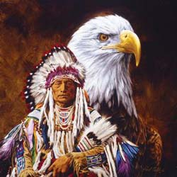 Spirit of the Eagle Native American Jigsaw Puzzle