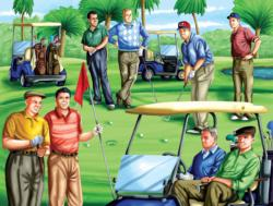 Fore! Republicans Sports Jigsaw Puzzle