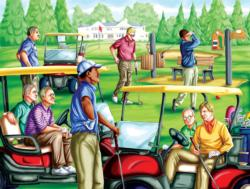 Taking a Break Sports Jigsaw Puzzle