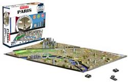 Paris-4D Cityscape Eiffel Tower 3D Puzzle
