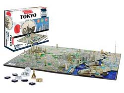 Tokyo Cities 3D Puzzle