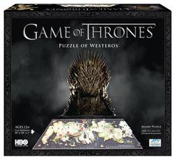 Game of Thrones:  Westeros Game of Thrones 3D Puzzle