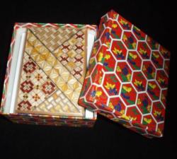 4 Sun 12 Step Koyosegi - Kakutaya Puzzle Box Brain Teaser