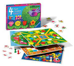 4 First Games Animals