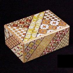 4 Sun 27 Step Koyosegi - Kakutaya Puzzle Box Brain Teaser