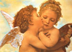 Putto's Kiss Fine Art Jigsaw Puzzle
