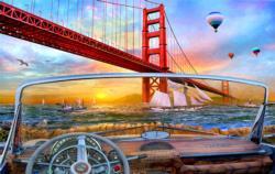 Golden Gate Adventure San Francisco Jigsaw Puzzle