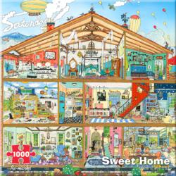 Architecture - Sweet Home Everyday Objects Jigsaw Puzzle
