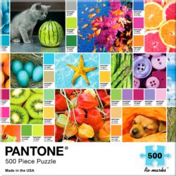 Pantone Collage Jigsaw Puzzle